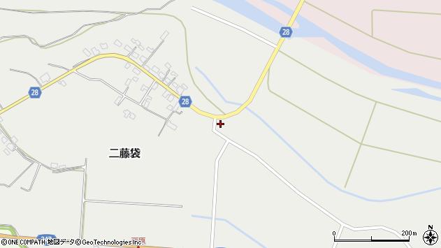 山形県尾花沢市二藤袋374周辺の地図