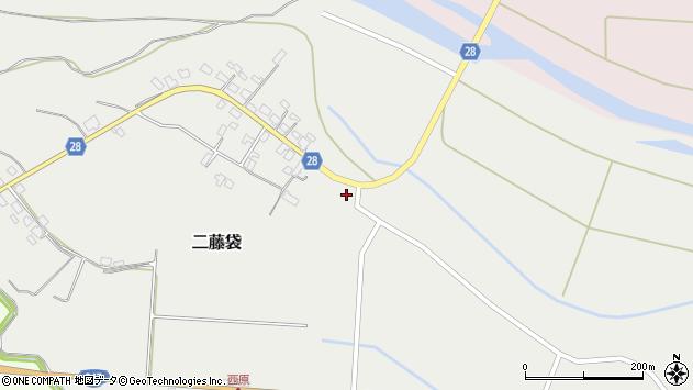 山形県尾花沢市二藤袋362周辺の地図