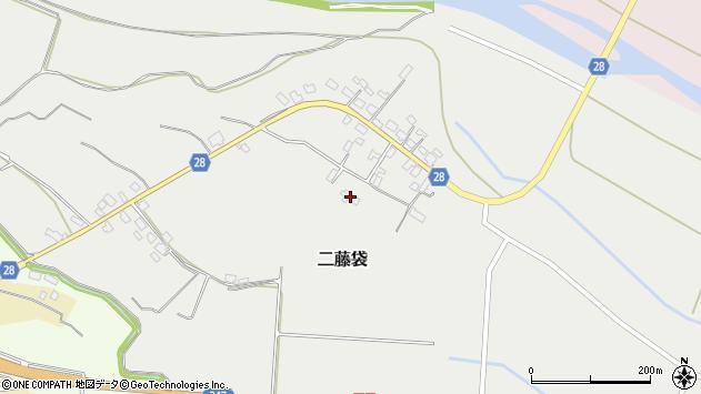 山形県尾花沢市二藤袋246周辺の地図