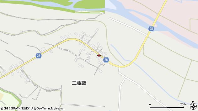 山形県尾花沢市二藤袋277周辺の地図