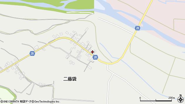 山形県尾花沢市二藤袋285周辺の地図
