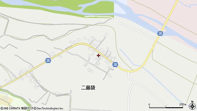山形県尾花沢市二藤袋271周辺の地図