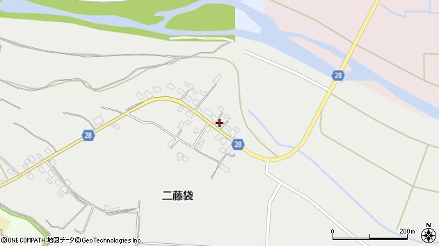 山形県尾花沢市二藤袋275周辺の地図