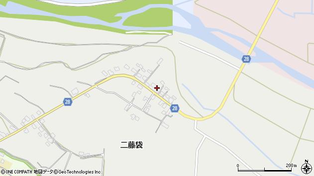 山形県尾花沢市二藤袋272周辺の地図