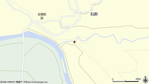 山形県尾花沢市行沢757周辺の地図