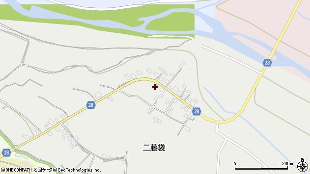 山形県尾花沢市二藤袋232周辺の地図