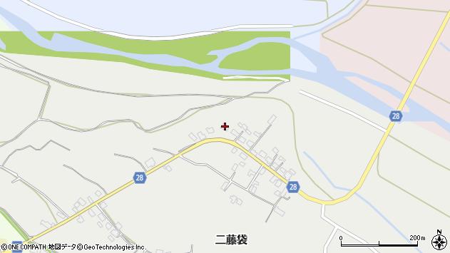 山形県尾花沢市二藤袋209周辺の地図