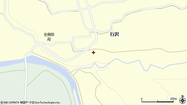 山形県尾花沢市行沢365周辺の地図
