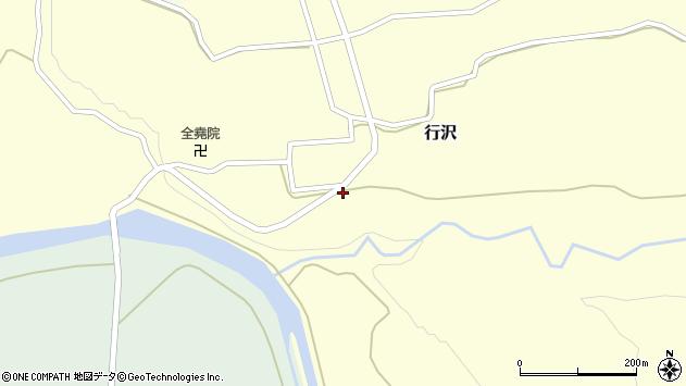 山形県尾花沢市行沢359周辺の地図