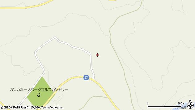山形県最上郡大蔵村南山694周辺の地図
