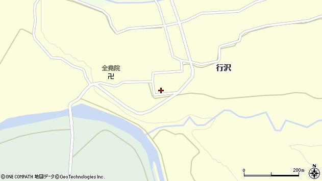 山形県尾花沢市行沢332周辺の地図