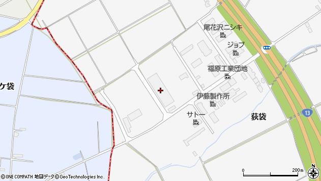 山形県尾花沢市荻袋堂ヶ塚1318周辺の地図