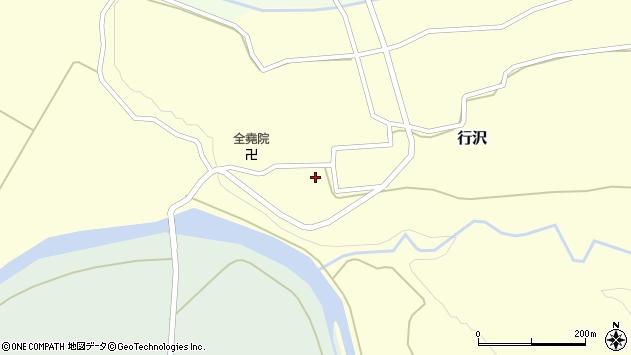 山形県尾花沢市行沢321周辺の地図