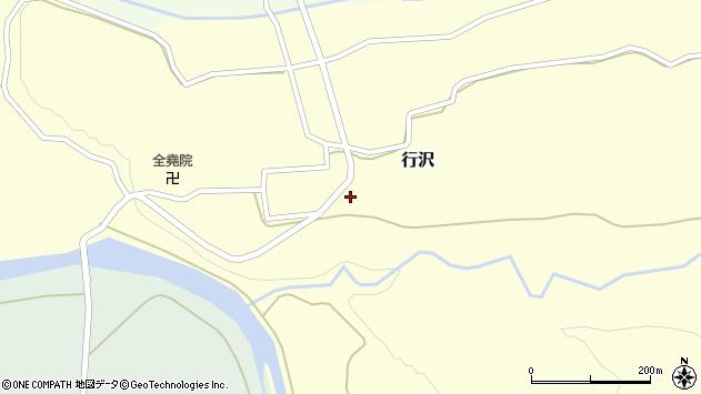 山形県尾花沢市行沢379周辺の地図