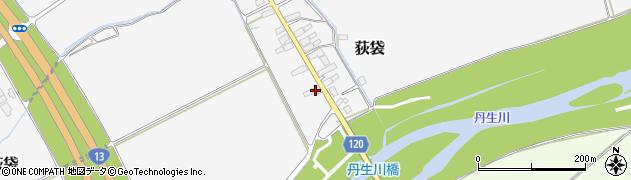 山形県尾花沢市荻袋718周辺の地図