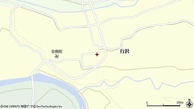 山形県尾花沢市行沢351周辺の地図