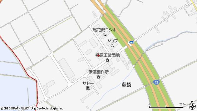 山形県尾花沢市荻袋1318周辺の地図