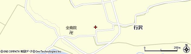 山形県尾花沢市行沢337周辺の地図