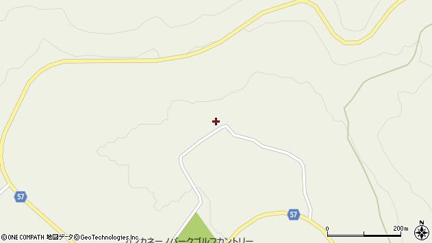 山形県最上郡大蔵村南山691周辺の地図