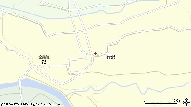 山形県尾花沢市行沢400周辺の地図