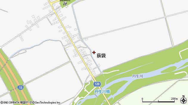 山形県尾花沢市荻袋108周辺の地図