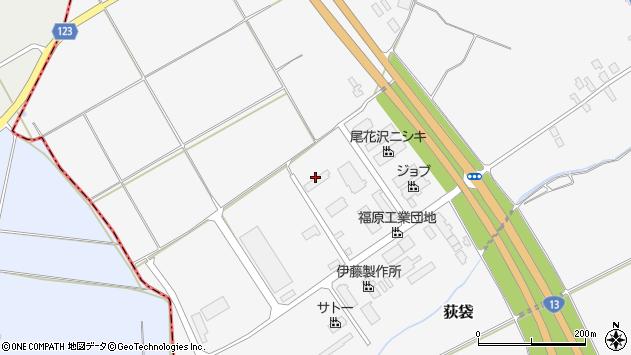 山形県尾花沢市荻袋西荻原1284周辺の地図
