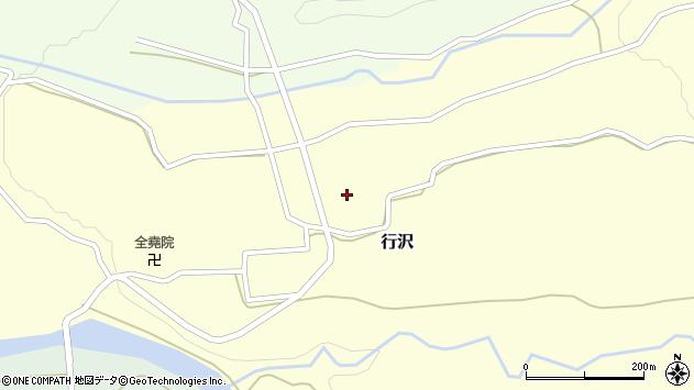 山形県尾花沢市行沢401周辺の地図