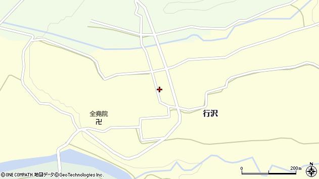 山形県尾花沢市行沢935周辺の地図
