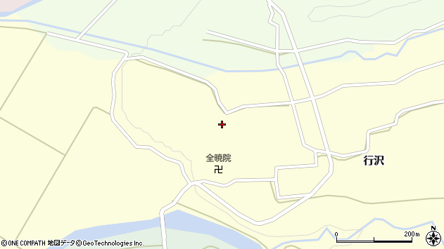 山形県尾花沢市中島245周辺の地図