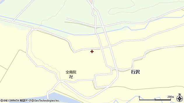 山形県尾花沢市中島255周辺の地図
