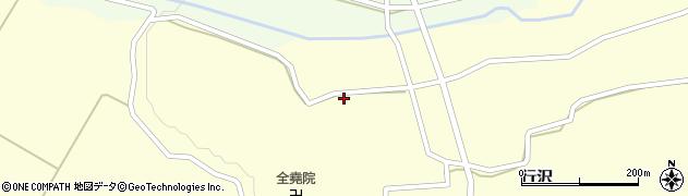 山形県尾花沢市中島253周辺の地図