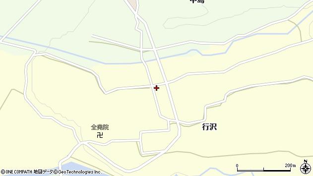 山形県尾花沢市中島280周辺の地図