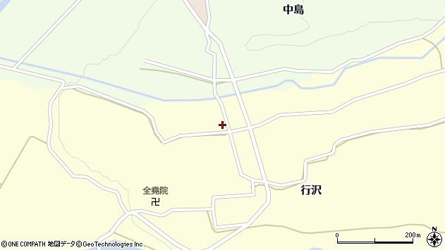 山形県尾花沢市中島260周辺の地図