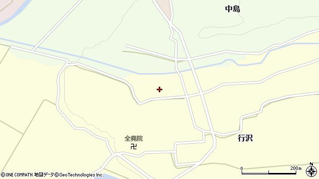 山形県尾花沢市中島252周辺の地図