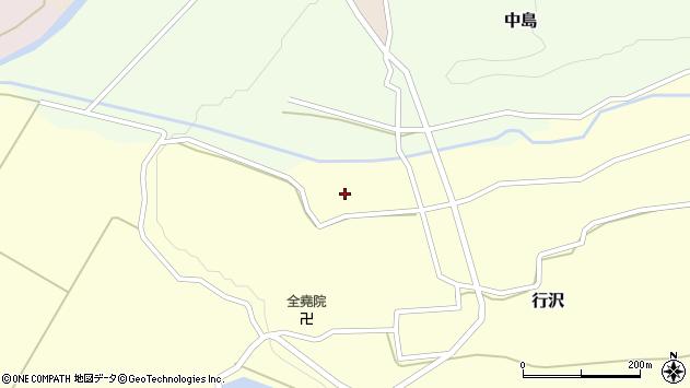 山形県尾花沢市中島247周辺の地図
