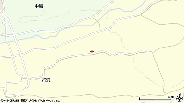 山形県尾花沢市行沢963周辺の地図