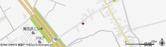 山形県尾花沢市荻袋580周辺の地図