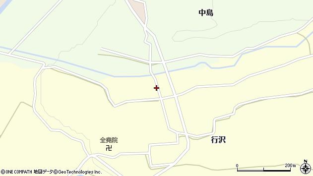 山形県尾花沢市中島259周辺の地図