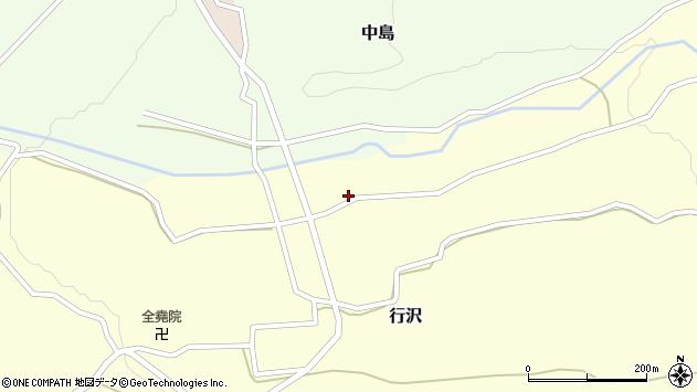 山形県尾花沢市中島291周辺の地図