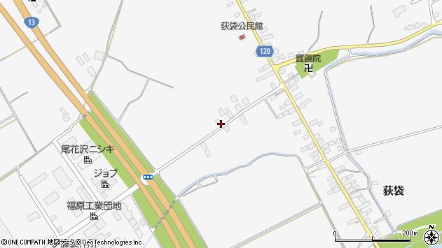 山形県尾花沢市荻袋569周辺の地図
