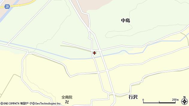 山形県尾花沢市中島153周辺の地図