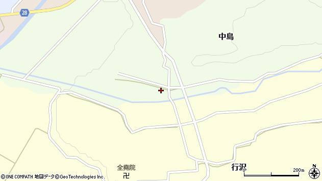 山形県尾花沢市中島150周辺の地図