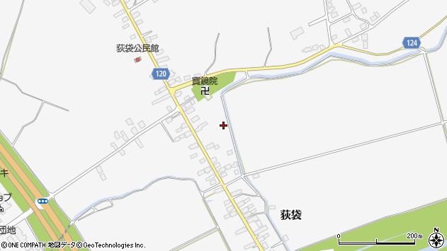 山形県尾花沢市荻袋1186周辺の地図
