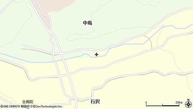 山形県尾花沢市中島212周辺の地図