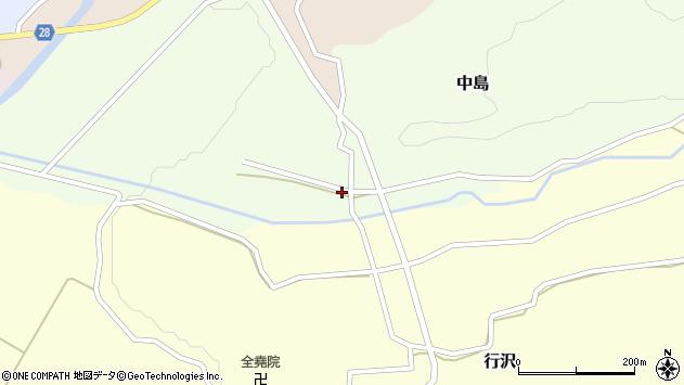 山形県尾花沢市中島174周辺の地図