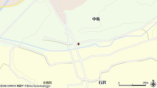 山形県尾花沢市中島167周辺の地図