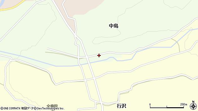 山形県尾花沢市中島169周辺の地図