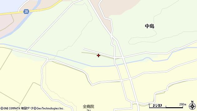 山形県尾花沢市中島147周辺の地図