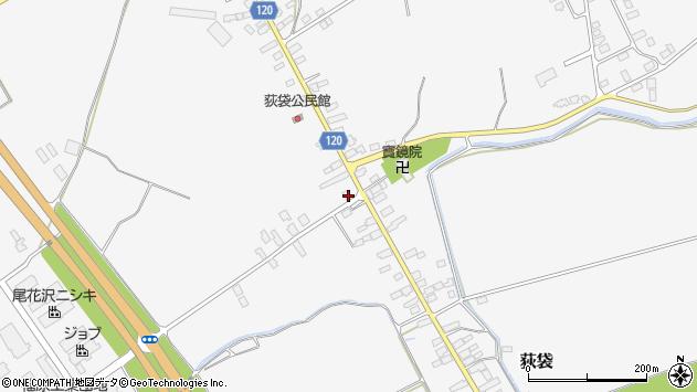 山形県尾花沢市荻袋692周辺の地図