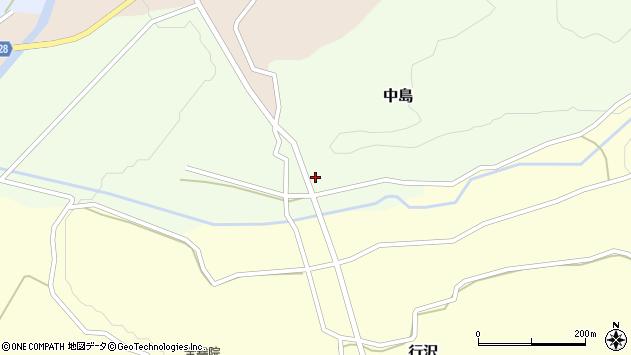 山形県尾花沢市中島164周辺の地図